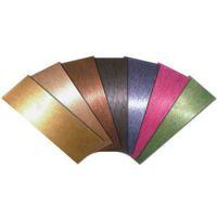 201.304玫瑰金不锈钢电镀平板|不锈钢彩色板材