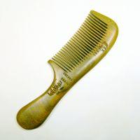 檀木梳子批发子绿檀木梳白水牛角黄牛角保健梳卷发梳厂家直销批发