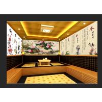 广州番禺天河的托玛琳汗蒸房设计安装