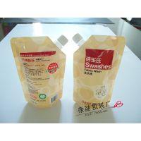 加厚洗衣液自立袋2kg加强型吸嘴洗衣液包装袋5kg厂家直销