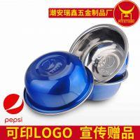 厂家供应不锈钢带磁调料缸 加深炫彩促销调料缸