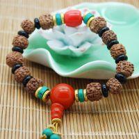 尼泊尔直达 精品5瓣金刚菩提子五瓣藏式金刚菩提散珠手串批发 DIY