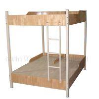 午托班学生午托床 上下铺木板床 高低学生床