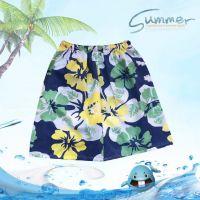 沙滩裤男式休闲短裤印花短裤男士宽松运动沙滩裤2015夏季新款