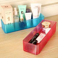 长方形桌面收纳盒 韩式小物件整理盒 抽屉分类盒杂物盒 批发130g