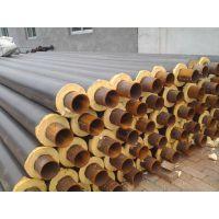 地埋聚氨酯泡沫保温钢管厂家施工 预制聚氨酯黑黄保温管