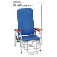 耐腐蚀不锈钢输液椅 海绵皮垫输液椅 实木扶手输液椅 YY-2001