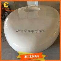 商场DP装饰道具玻璃钢插花休息凳