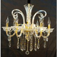 CVMA厂家直销 5019C-6A欧式家用水晶吊灯客厅餐厅卧室灯具白炽灯可定制