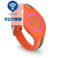 卡立方定制RFID硅胶手腕带 IC腕带 防水耐高温NFC腕带 可定制雕刻logo