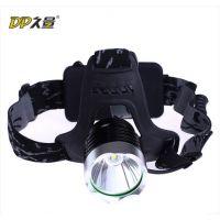 DP久量LED-534 头灯 强光 充电 头戴矿灯 夜钓灯 10W大功率锂电池