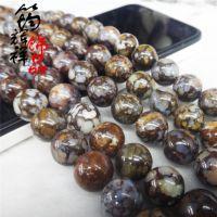 【厂家直销】正品纯天然蛋白石散珠 半成品 8-12MM圆珠 DIY饰配包