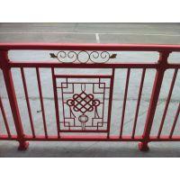 海南海马花阳台栏杆,大红中国结花式阳台栏杆,铝合金阳台栏杆,木纹色阳台栏杆,古铜色阳台栏杆,锌钢阳台