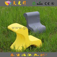 【质量保证】七彩儿童塑料桌椅 宝宝专用加固靠椅 多功能BB凳子