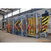 国森机械利用废旧塑料生产免烧砖托板生产工艺设备