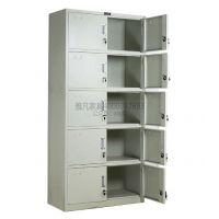 西安五节柜|凭证柜|档案柜 雅凡家具加厚铁皮办公文件柜