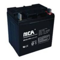 MCA蓄电池代理商12V/100AH 官网现货直销