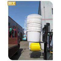 江苏塑胶圆桶厂家 1000L塑料圆形水桶 3吨塑料腌制桶价格