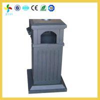 童年风车景区公共设施不锈钢垃圾桶批发 永州工厂生产价格/尺寸