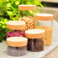晶罐厨房密封储物罐茶叶罐糖果罐调味罐子玻璃95180