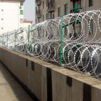 广州小区围墙防盗网|刀片刺网|围墙防盗专用|言必诺专业生产刀片刺绳