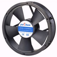厂家生产椭圆22060/220V 大型交流风机 大风量 用于机柜设备