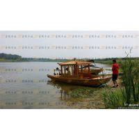 供应实木木船 公园观光船 景区手划船 电动游船 休闲木船 影视道具船