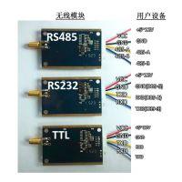 远距离扩频跳频TTL 232 485串口无线数传模块YL-900IL