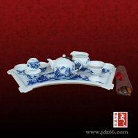 礼品茶具定做 唐龙陶瓷 手绘茶具厂家 景德镇陶瓷