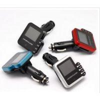 外贸爆款汽车MP3播放器U盘式 带遥控 点烟器式车载mp3插卡机