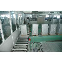 广东冰箱装配线链板线,洗衣机组装生产线,冰柜生产线滚筒输送