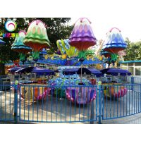 儿童逍遥水母游乐设备 旋转木马类游乐设备 挣钱儿童户外户外
