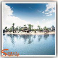 沙滩椰子树 景观绿化装饰玻璃钢仿真椰子树 别墅造景