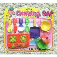 儿童过家家玩具套装 厨房模拟仿真餐具 热卖低价塑料玩具 批发
