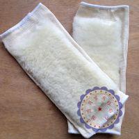厂家批发真羊皮毛一体膝保暖防风湿关节炎运动护具包邮