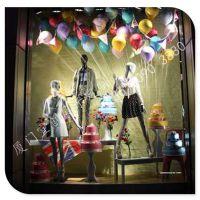 供应高档餐厅仿真吊挂高档玻璃钢气球道具定制制作 商场美陈玻璃钢气球道具定制