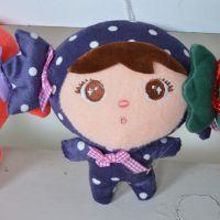 毛绒玩具 公仔吉祥宝宝女娃娃 创意安吉拉玩具挂件 厂家直销