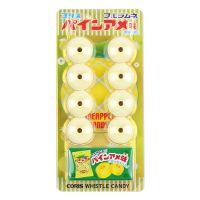 日本进口儿童糖果 可利斯口哨糖(菠萝味)20g 内附玩具 好吃又好玩