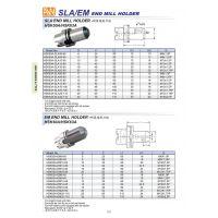 台湾刀柄 AW 侧固铣刀柄 HSK63A-SLA20-100