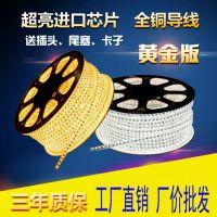 东方新能源LED5050贴片灯带家装主材柔性灯条高压防水灯带