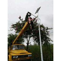 呼伦贝尔太阳能路灯为学校提供照明 绿色节能 配置高