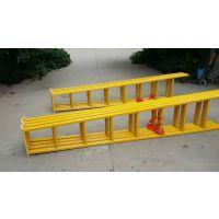 厂家直销优质绝缘伸缩梯绝缘鱼竿梯 玻璃钢多层凳A8
