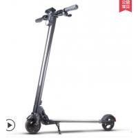 酷车e族 碳纤维电动滑板车迷你超轻便携式可折叠成人代驾电动车