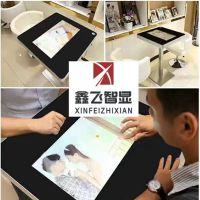 智能触控餐桌鑫飞智能触摸屏点餐桌简约现代