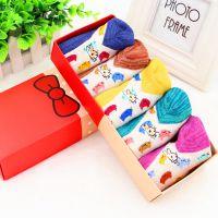 可爱刺绣猫卡通纯棉女袜 隐形浅口袜 彼得兔礼盒袜子 淘宝爆款