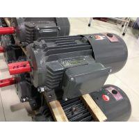 供应上海德东电机厂4极YEJ电磁制动380V三相异步电动机0.75KW