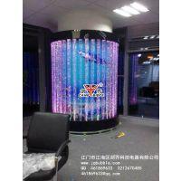 弧形圆管气泡墙报价,大堂装饰水景墙,KTV装饰柱,酒店屏风