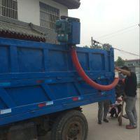 收购粮食专用软管吸粮机 适用于各行业电动软管吸粮机信达牌