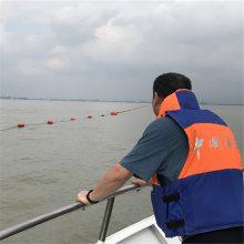 水库治理用塑料拦污漂排 警示拦截浮体浮筒 厂家直销