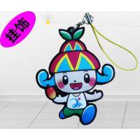 东莞迪士尼广告活动赠品硅胶钥匙扣挂饰厂家定制